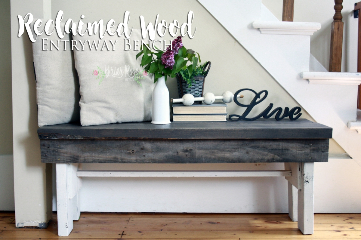 Entryway Bench – Reclaimed Wood.