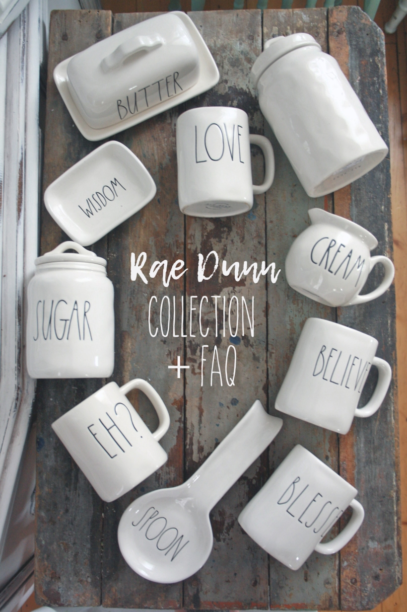 My Rae Dunn Collection & FAQ