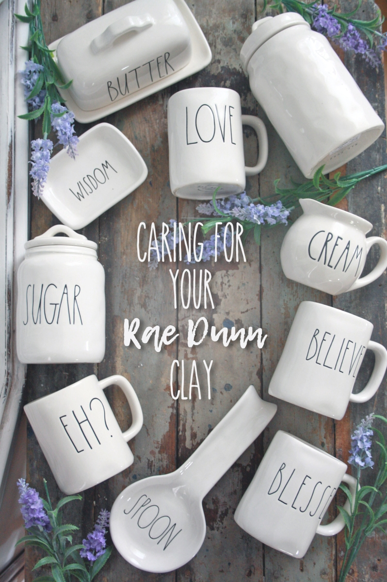 Caring for your Rae Dunn clay Collection.