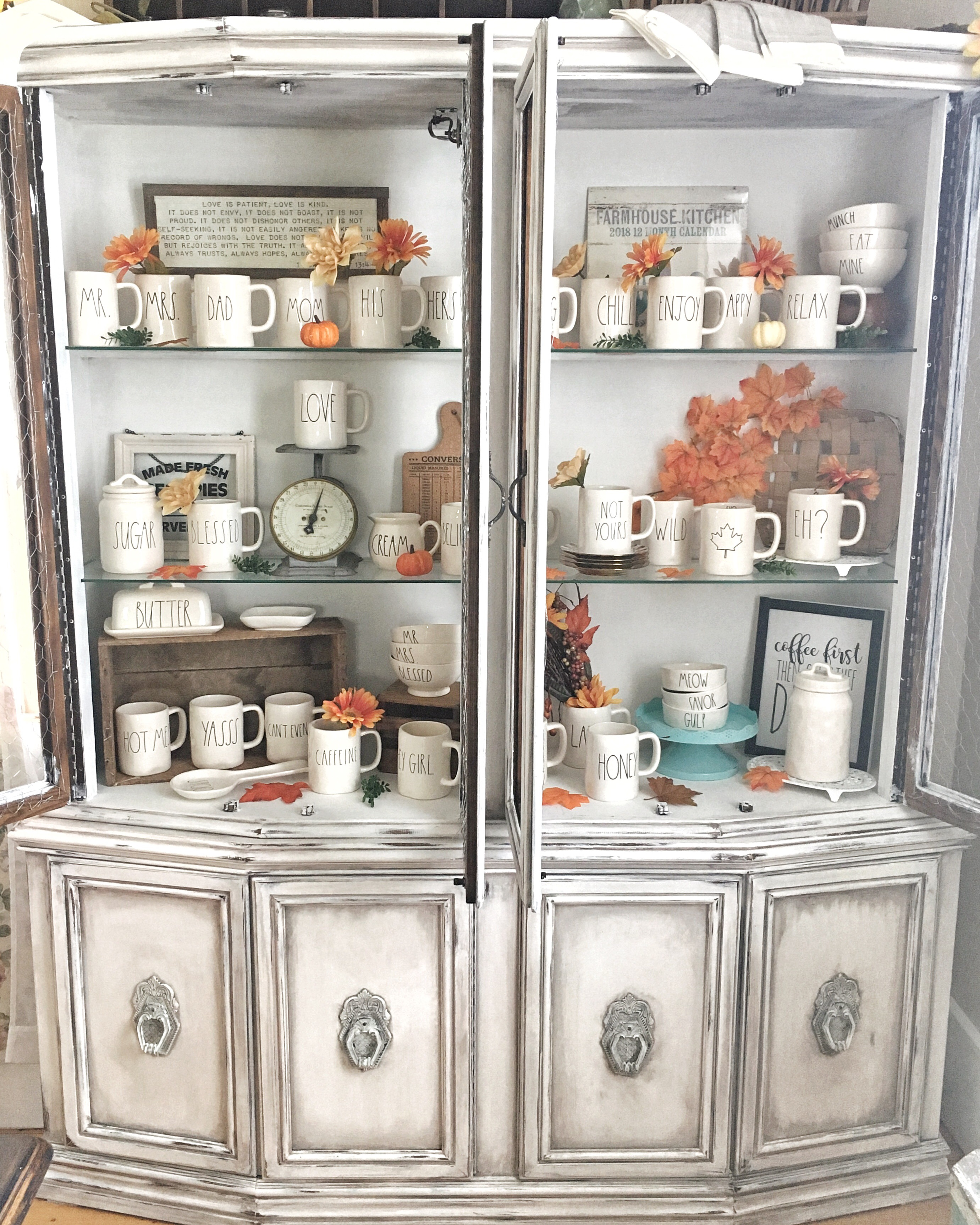 China Cabinet Completed. – Briar Rose Blog
