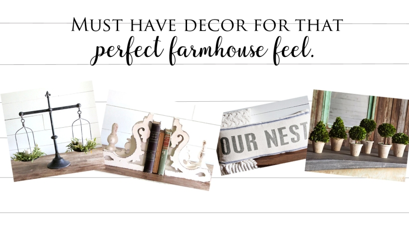 Must Have Decor for that Perfect Farmhouse Feel