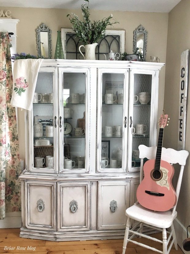 Please vote for our china cabinet in CCP's monthly challenge