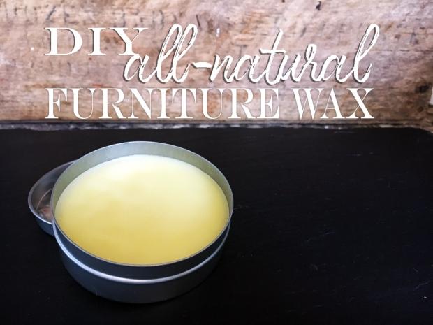 DIY Natural Furniture Wax